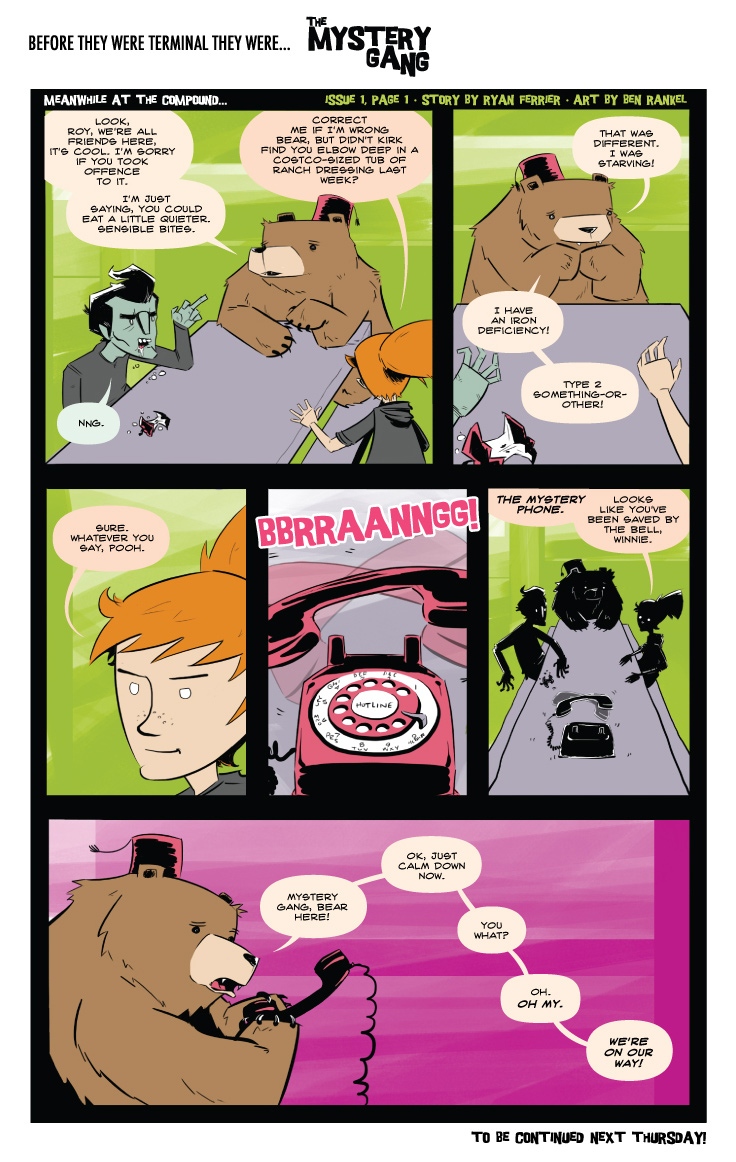 Terminals: The Mystery Gang #1 pg.1