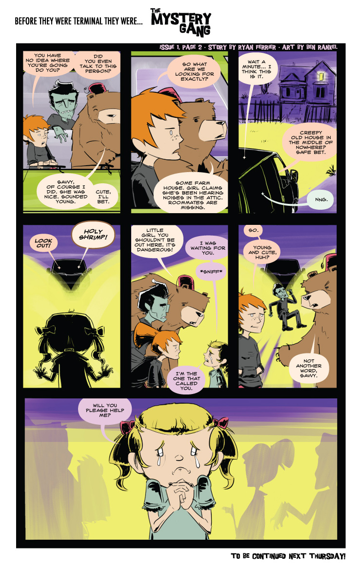 Terminals: The Mystery Gang #1 pg.2