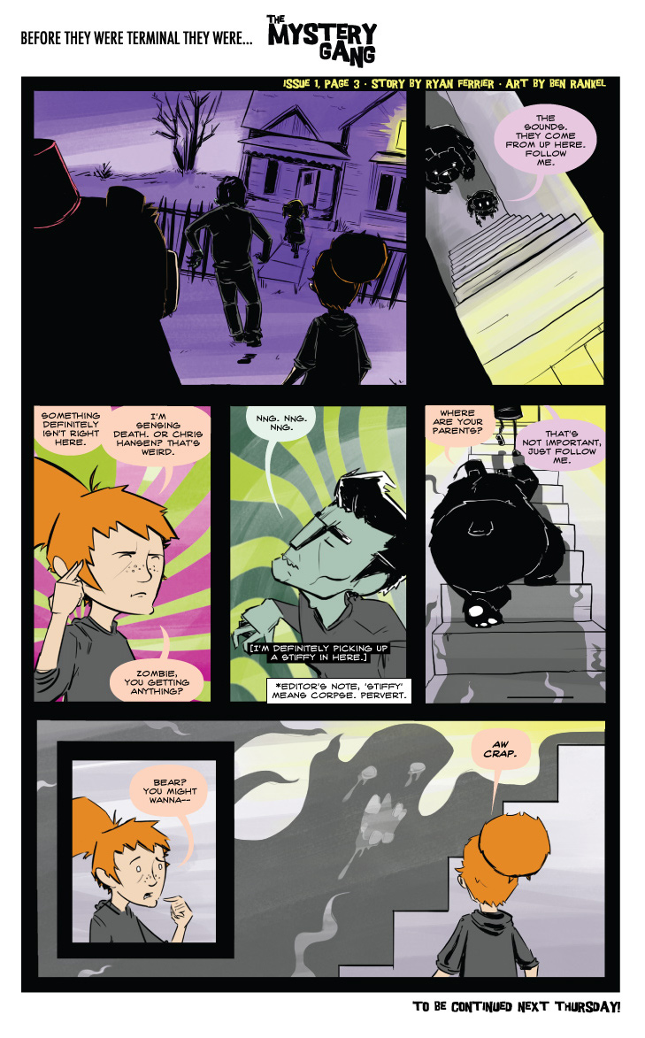 Terminals: The Mystery Gang #1 pg.3