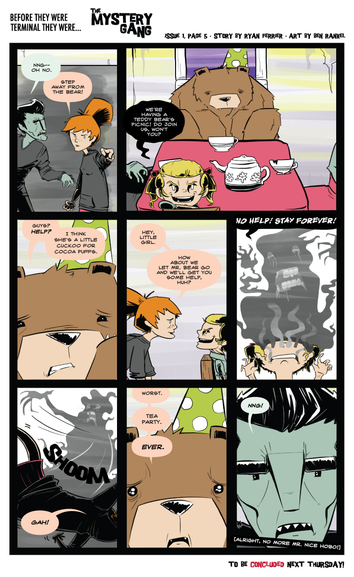 Terminals: The Mystery Gang #1 pg.5