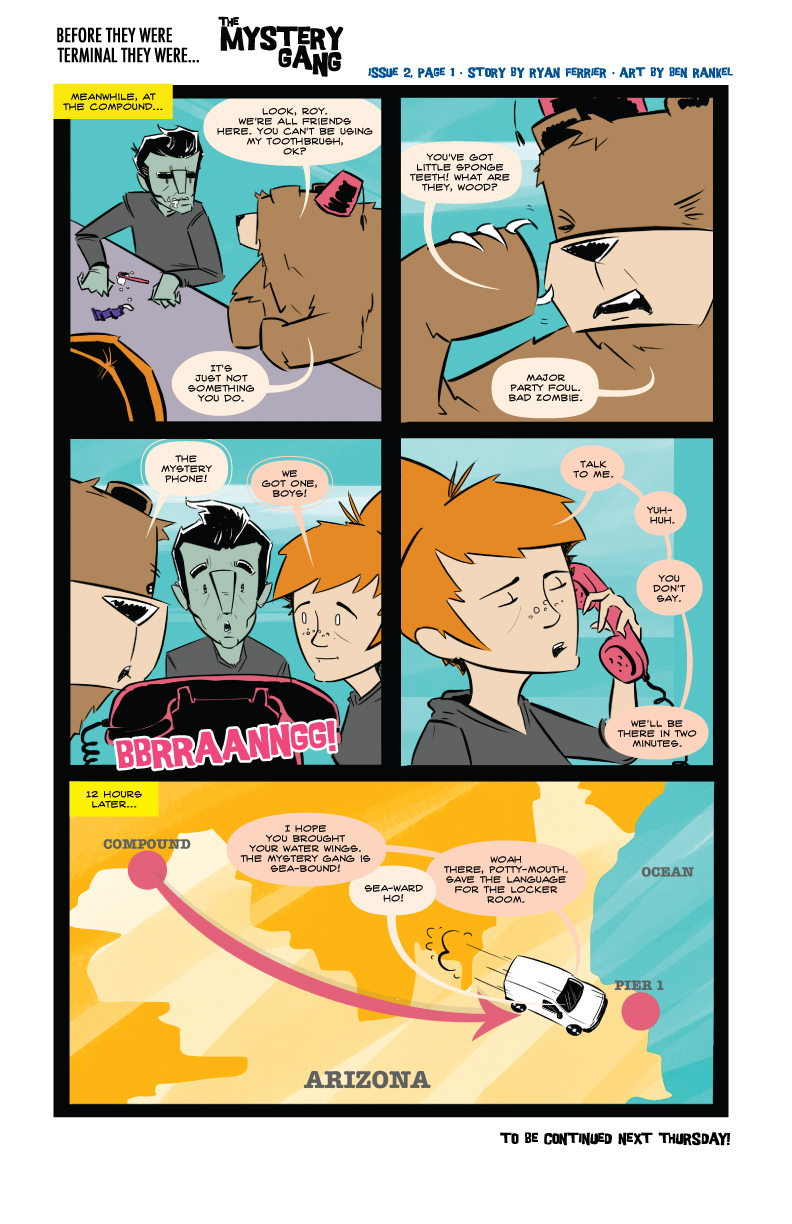Terminals: The Mystery Gang #2 pg.1