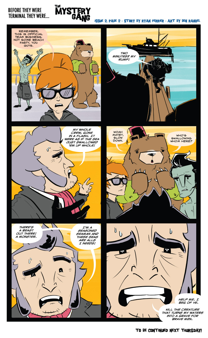 Terminals: The Mystery Gang #2 pg.2