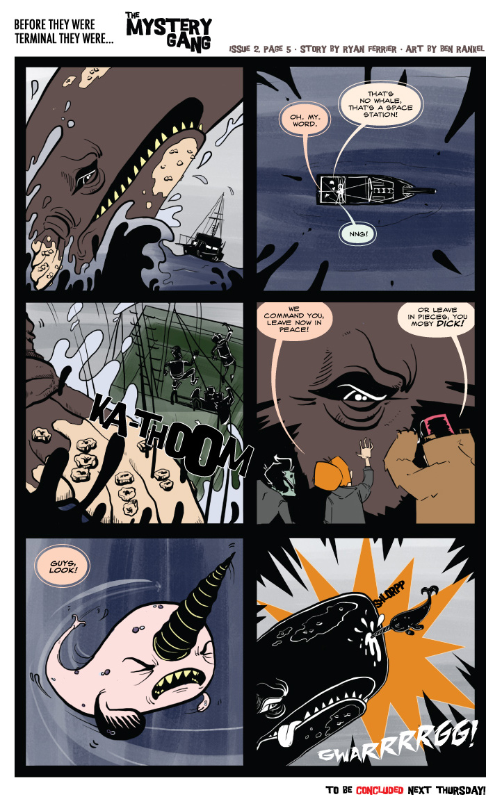 Terminals: The Mystery Gang #2 pg.5